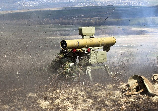 Sistema de mísseis antitanque Fagot (imagem referencial)
