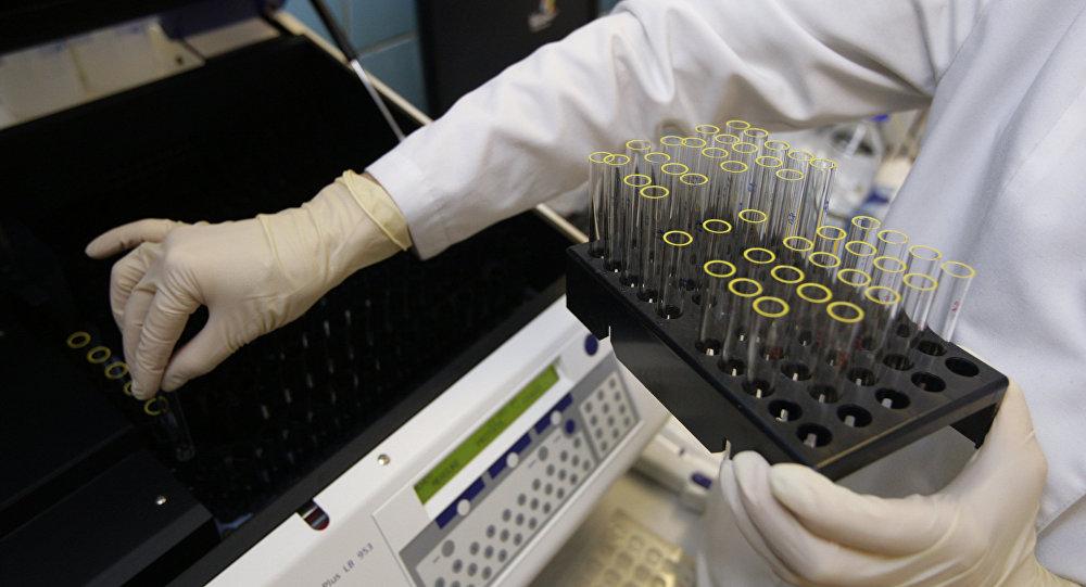 Doping laboratory. File photo
