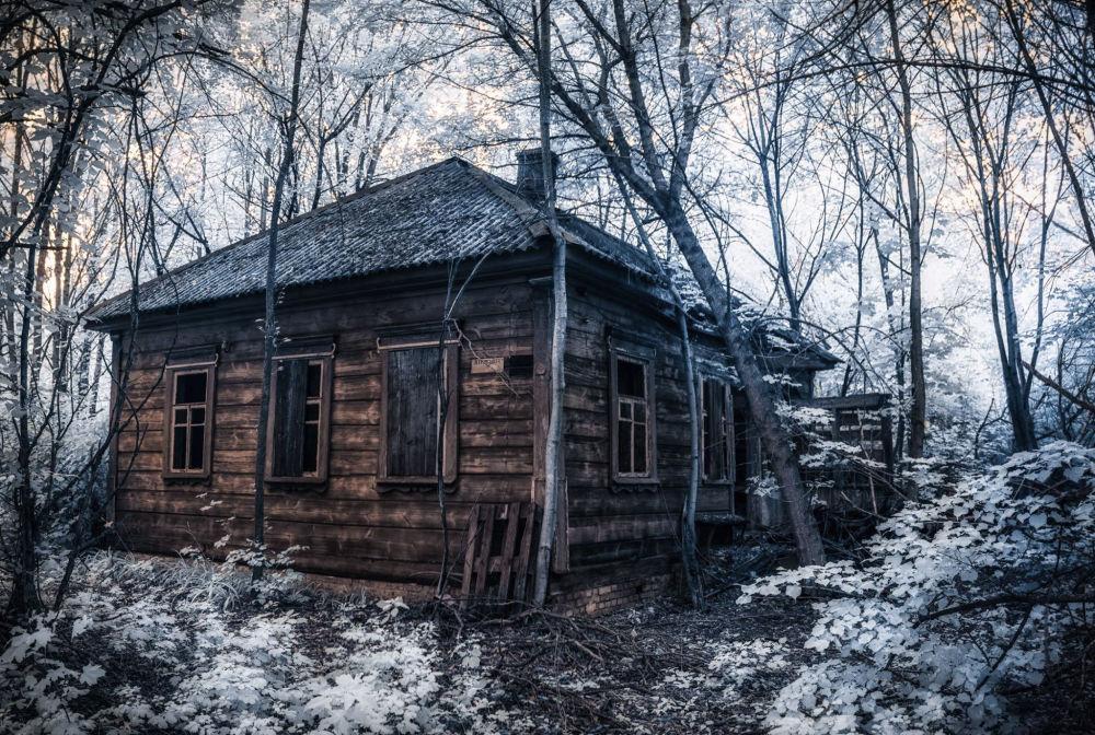Casa em povoado abandonado