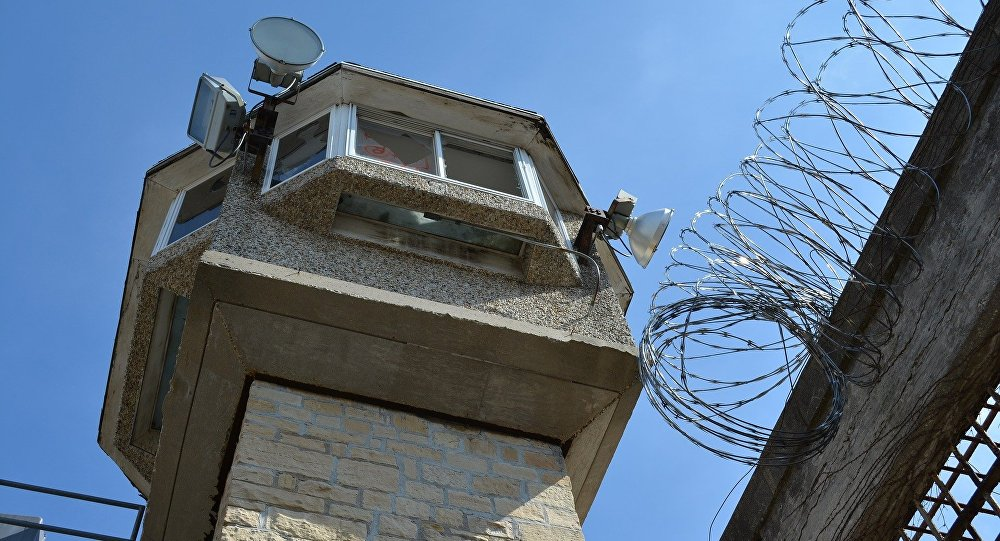 Torre de vigilância em uma prisão (imagem referencial)