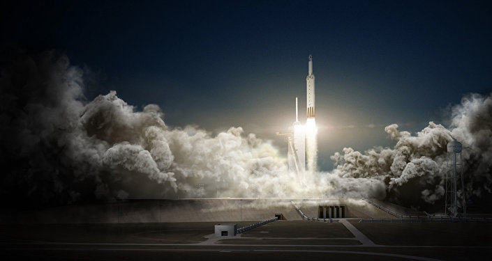 Falcon Heavy, o foguete da SpaceX