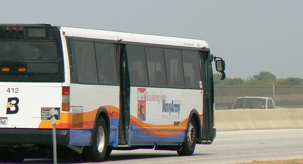 Ônibus no Texas (foto de arquivo).