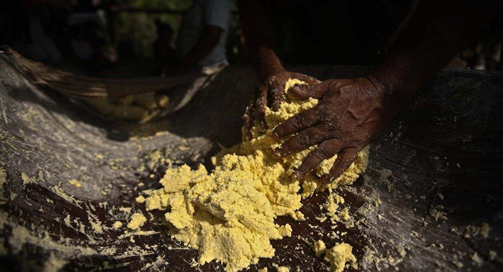 Comunidade quilombola no Pará