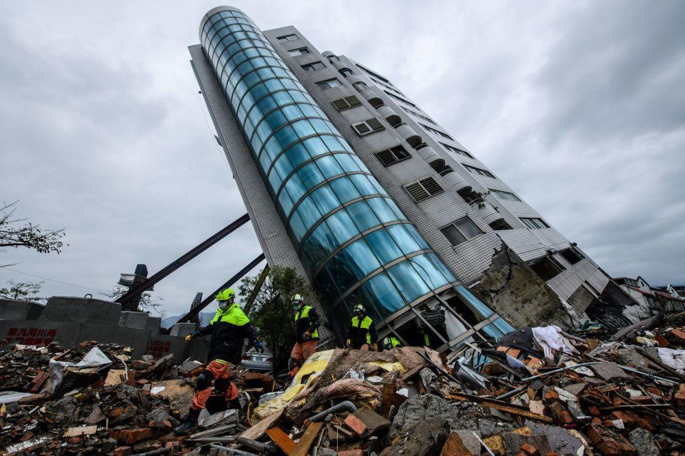 Consequências do terremoto que atingiu Taiwan em 6 de fevereiro