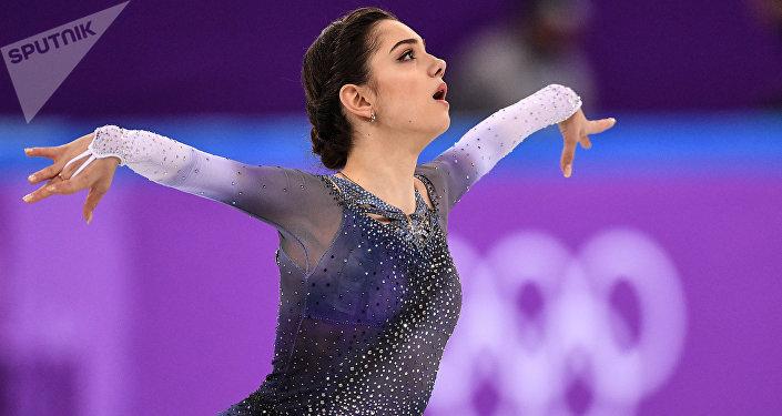 Atleta russa Yevgenia Medvedeva
