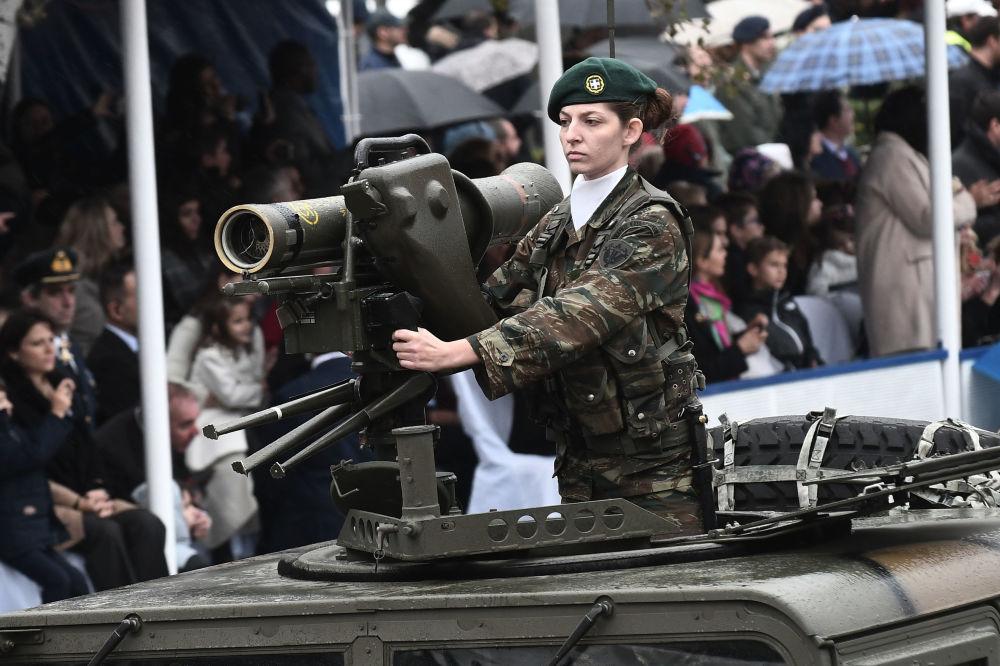 Parada militar na Grécia