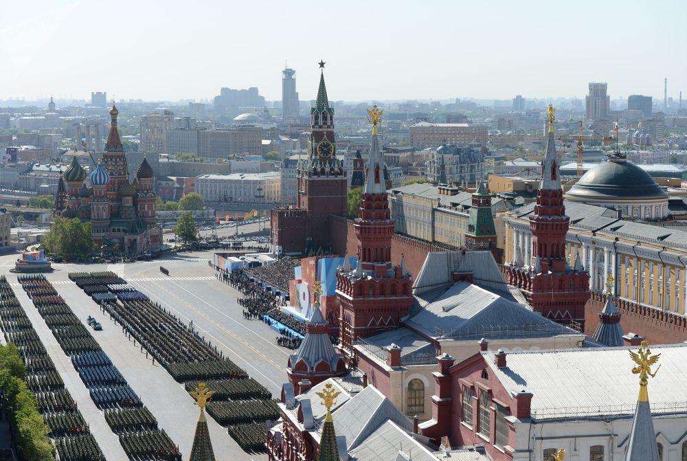 Parada da Vitória em Moscou