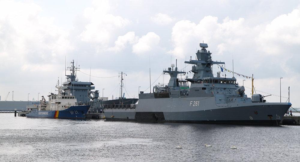 Navios da Marinha alemã