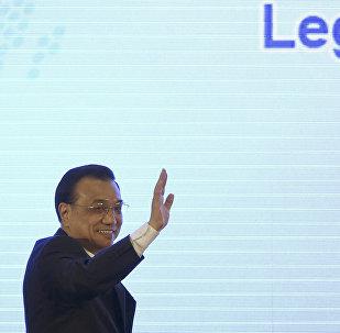Li Keqiang em 13 de abril de 2015.