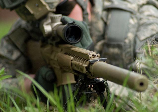 Sistema sniper M110 Semi-Automático (SASS)
