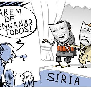 Vaias para teatrinho dos EUA na Síria