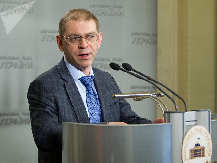 Sergei Pashinsky, foto de arquivo
