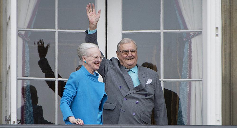 Morreu o príncipe Henrique, marido da Rainha da Dinamarca