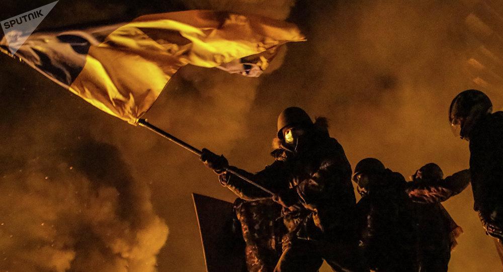 Confrontos em Kiev em 2014