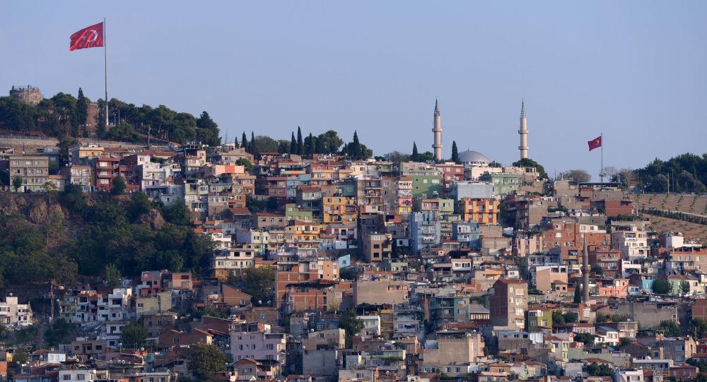 Izmir, Turquia. Foto de arquivo