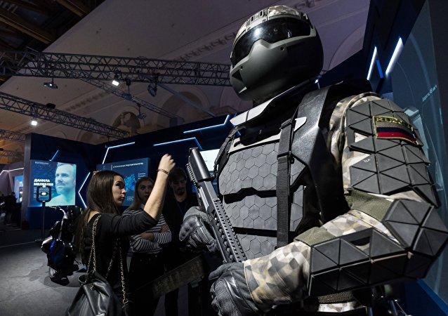 Visitantes durante uma exposição dedicada ao futuro, Moscou (foto de arquivo)