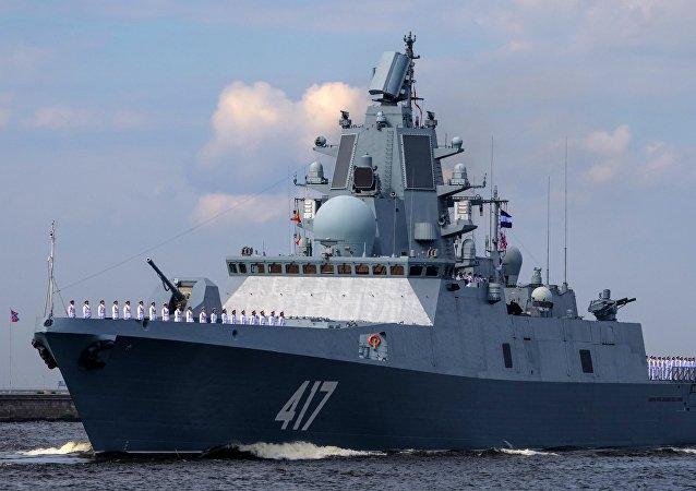 Fragata russa Admiral Gorshkov