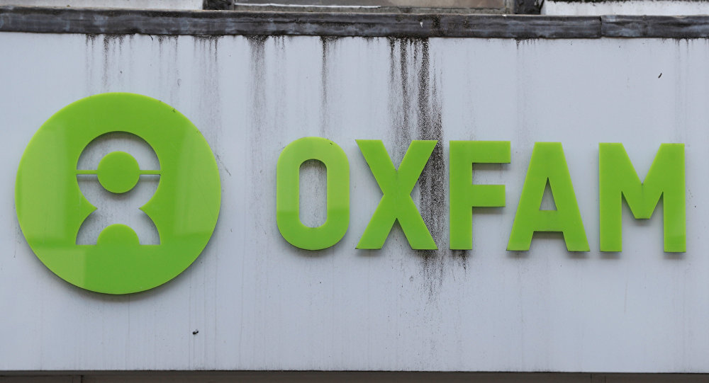 An Oxfam shop is seen, in London, Britain