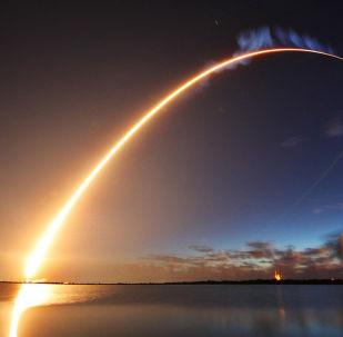 Lançamento de um foguete norte-americano (imagem referencial)