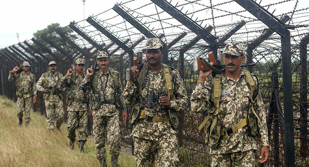 Guardas de fronteira da Índia (foto do arquivo)