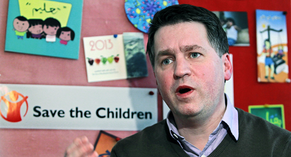 Justin Forsyth, ex-vice-diretor executivo do Fundo das Nações Unidas para a Infância (Unicef)