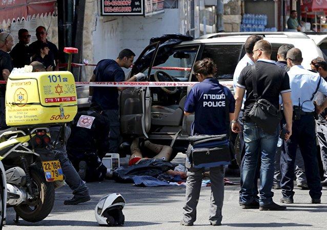 Motorista palestino é morto por policial israelense em Jerusalém Oriental.