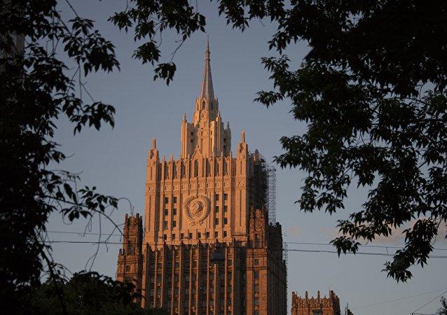 Edifício da chancelaria russa, em Moscou (foto de arquivo)