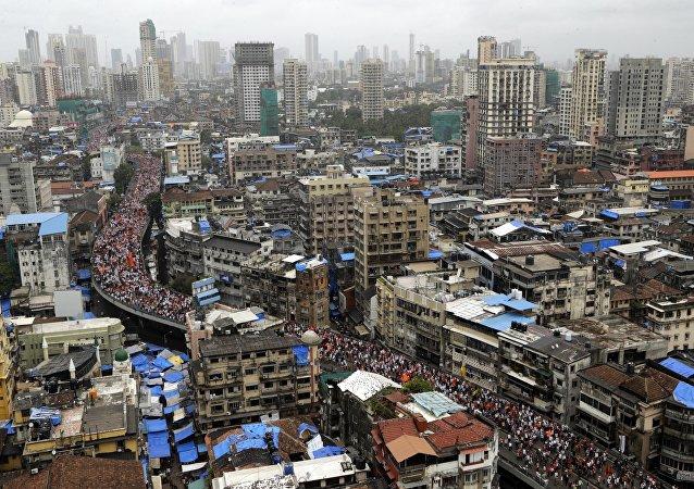 Cidade de Mumbai na Índia (imagem referencial)