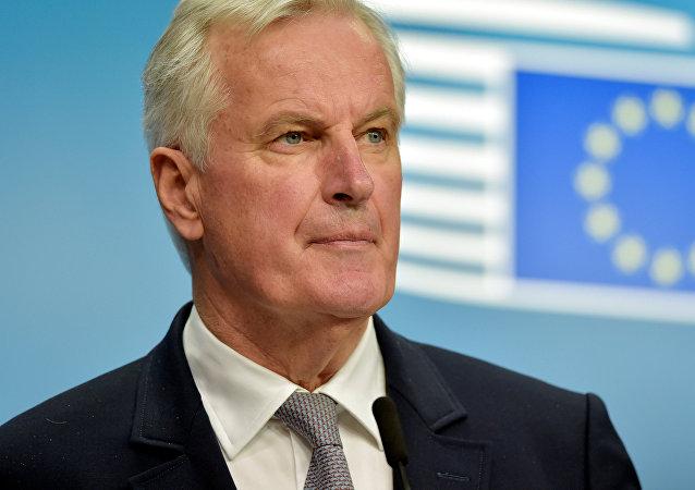 O negociador-chefe da União Europeia para o Brexit, Michel Barnier
