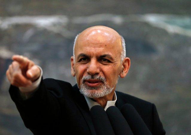 Ashraf Ghani em Cabul