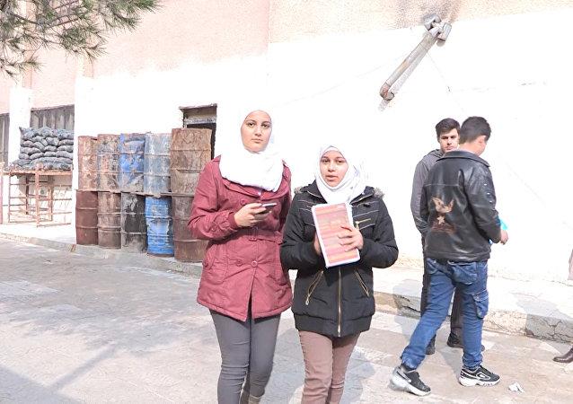 Moradora conta sobre ataque de militantes em Ghouta Oriental
