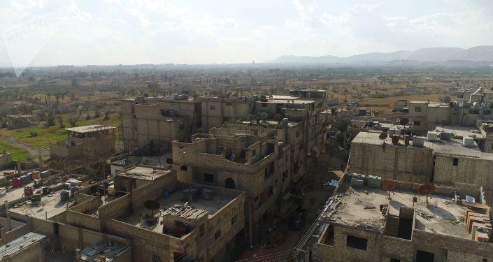 Corredor humanitário entre Damasco e Ghouta Orienta, arquivo