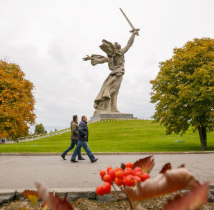 Monumento Mãe-Pátria em Volgogrado (foto de arquivo)