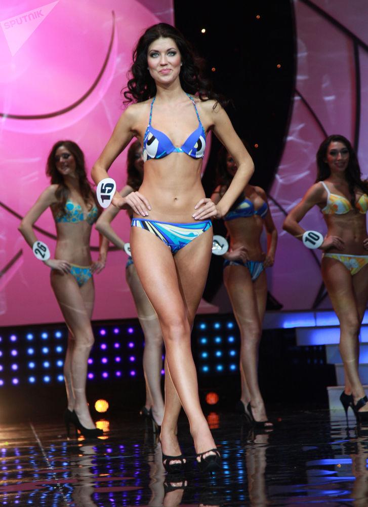 Alyona Kuznetsova, candidata russa ao concurso Miss Terra em 2011