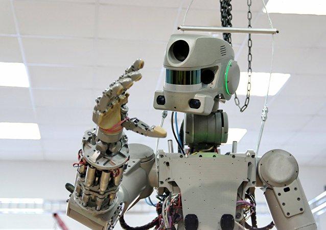 Robô russo Fedor (imagem referencial)