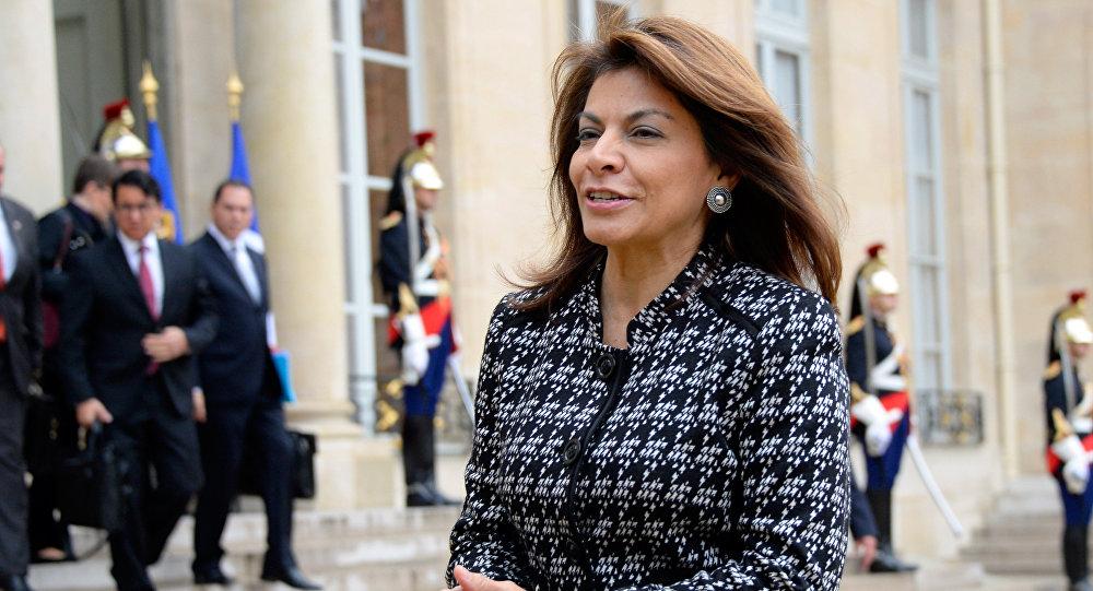 Presidente da Costa Rica entre 2010 e 2014, Laura Chinchilla Miranda (foto de arquivo)