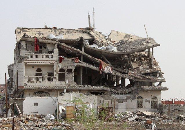 Os ataques da Arábia Saudita ao Iêmen ajudaram o abismo entre os países mais pacíficos e os mais violentos do mundo.