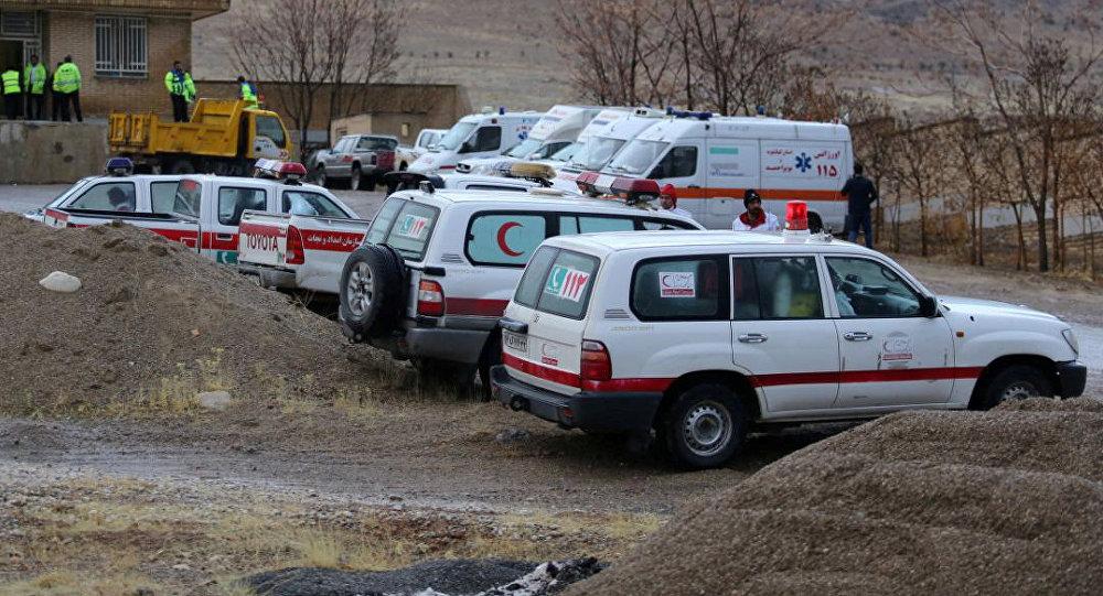 Ambulâncias no Irã ( foto de arquivo).