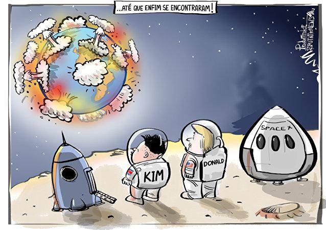 Prazer-prazer, e esse mundo se explodindo?