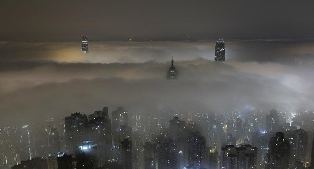 Vista de Hong Kong (China)