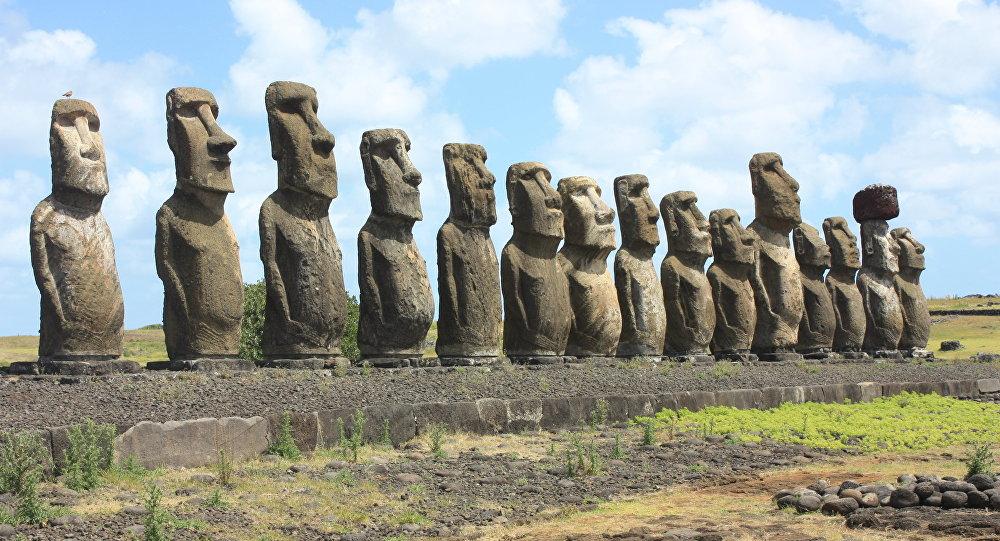 Moais, estátuas da Ilha de Páscoa