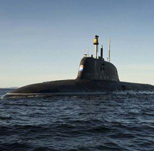 Submarino nuclear russo do projeto Yasen-M (foto de arquivo)