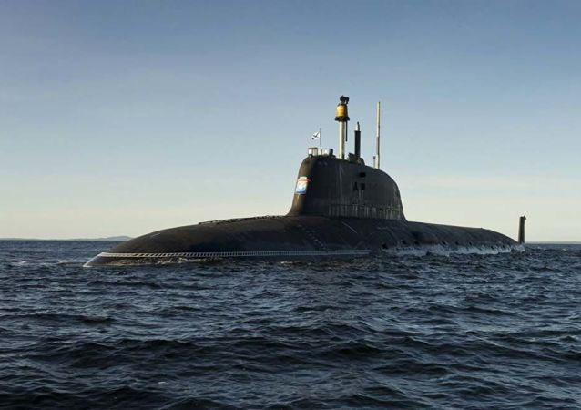 Submarino nuclear russo do projeto Yasen-M