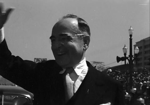 """Cena do documentário """"Imagens do Estado Novo 1937 – 45"""""""