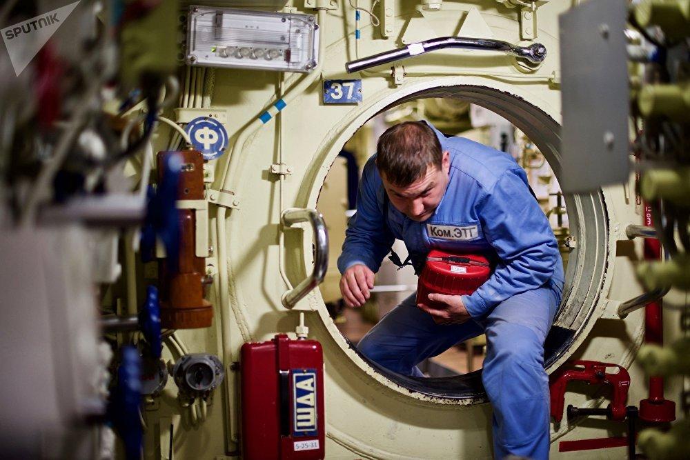 O submarino foi lançado à água em 2014 e tem como base o porto de Novorossiysk, no sul da Rússia