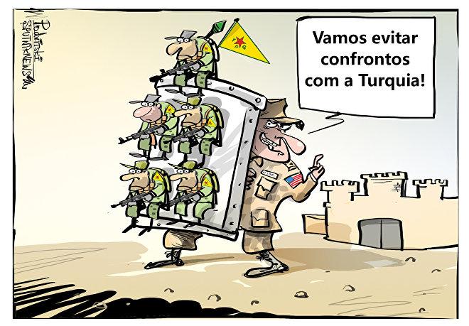 Mais uma promessa, mais alguns soldados curdos