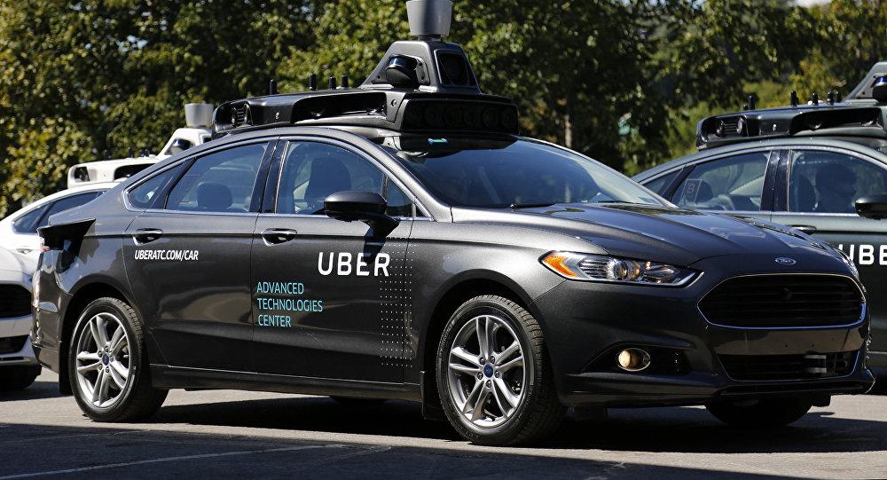 Carro automático da Uber (foto de arquivo)