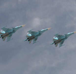 Bombardeiros táticos Su-34