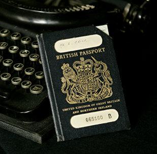 Passaporte britânico tradicional