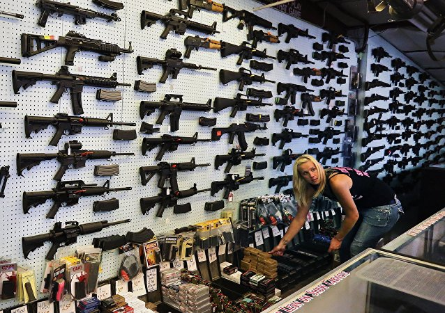Loja de venda de armas no Colorado, Estados Unidos (foto de arquivo).
